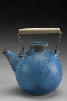 teapot by stig lindberg, c.1950s