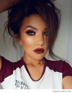 Makeup Tips For Dark Circles Ideas Make-up-Tipps für Augenringe Ideen Flawless Makeup, Gorgeous Makeup, Pretty Makeup, Love Makeup, Fall Makeup Looks, Dead Gorgeous, Spring Makeup, Amazing Makeup, Makeup Style