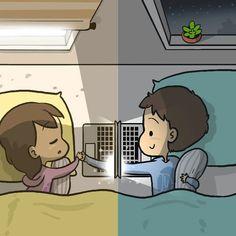 Couple Cartoon Pictures, Love Cartoon Couple, Cute Couple Comics, Couples Comics, Cute Couple Art, Cute Couple Pictures, Cute Couples Goals, Cute Anime Couples, Ken Kaneki Tokyo Ghoul