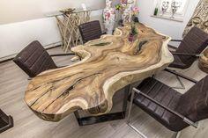 Konferenztisch Baumscheibe Baumstamm