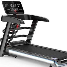YIDPU Professional Treadmill,led Display 1-8km / H Wide Running Area with Safety Lock Low Noise Folding Maximum 100kg… ▶Integrated design: simple foldi... Running On Treadmill, Running Belt, Running Machines, Workout Machines, Electric Treadmill, At Home Gym, At Home Workouts, Safety, Treadmills