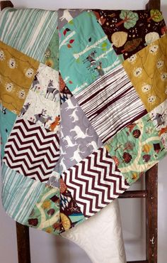 Hey, I found this really awesome Etsy listing at http://www.etsy.com/listing/177403310/baby-quilt-organic-modern-vintage-rustic