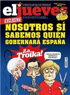 Nosotros sí sabemos quién gobernará España