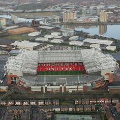 """Old Trafford is the home of my favorite professional soccer team: Manchester United. It is nicknamed """"The Theater of Dreams"""" and is on any true Red Devils bucket list Manchester United Stadium, Manchester United Old Trafford, Manchester England, London England, Manchester City, Soccer Stadium, Football Stadiums, Stadium Tour, Wembley Stadium"""