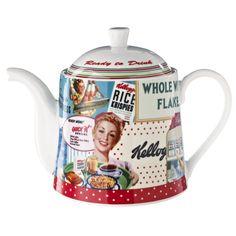 Vintage Kellogg's Teapot: Amazon.co.uk: Kitchen & Home