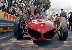 1961 GP de Mónaco Ferrari Dino 156 F1 #40 de Wolfgang von Trips