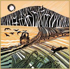linocut by Rob Barnes Linocut Prints, Art Prints, Block Prints, Linoprint, Wood Engraving, Chinese Art, Chinese Painting, Print Artist, Woodblock Print