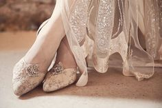 I love these shoes and everything else about this wedding! Fairground Attraction ~ Pompoms And Pretty At Preston Court