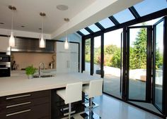 Modern and Contemporary Bespoke Glass Extensions - Interiors and Exteriors contemporary-kitchen