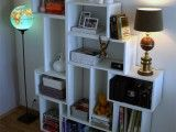 Diy Modern Bookcase | Shelterness