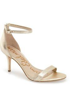 e27c6885124c SAM EDELMAN  Patti  Ankle Strap Sandal (Women).  samedelman  shoes  sandals