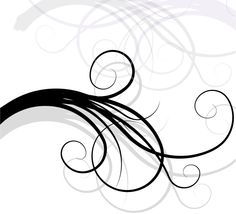 Floral Swirl Background Vector - http://www.dreamstock.net/floral-swirl-background-vector/