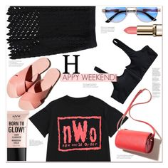 """""""happyweekend"""" by mycherryblossom ❤ liked on Polyvore featuring NYX and Garance Doré"""