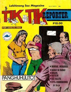 Tiktik Magazine 1986 Civil Disobedience, Tagalog, Muhammad Ali, Pinoy, Adults Only, Free Reading, Manila, Reading Online, Philippines