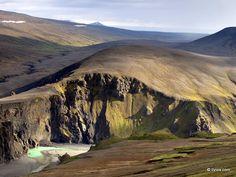 Breath-taking wilderness - Hafrahvammagljufur, Iceland.