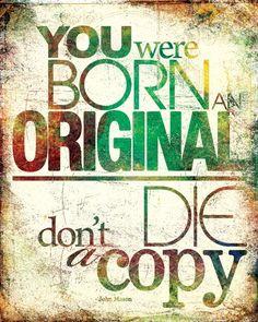 Born this way...