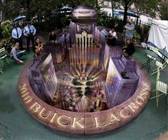Buick Publicity Event, Herald Square, New York (Kurt Wenner)