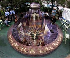 Buick Publicity Event, Herald Square, New York (Kurt Wenner)