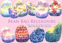 The Sims 4 CC    Bean Bag Recolour