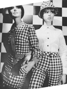 1960s Mary Quant ad featuring Pattie