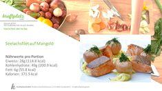 Sensationelles Rezept für die Zubereitung von Seelachs😋 Cantaloupe, Fitness Bodybuilding, Fruit, Sport, Food, Food Portions, Health, Recipies, Gain Muscle