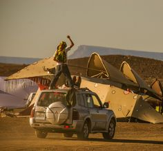 All the fun and the festivities of the annual AfrikaBurn festival.