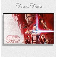 Тhe Last Jedi Star Wars Poster Star Wars Prints, Star Wars Poster, Star Wars Tshirt, Last Jedi, Daisy, Stars, Canvas, Movie Posters, T Shirt