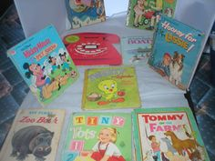 Vintage Children's books   from 1950-1974 lot of 10