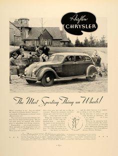 Chrysler Airflow Ad