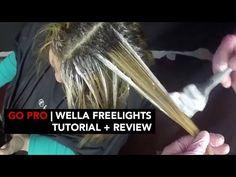 Hellocindee - [GO PRO] WELLA FREELIGHTS TUTORIAL & REVIEW - YouTube