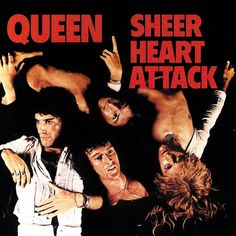 "Queen: Freddie Mercury John Deacon Roger Taylor Brian May ALBUM: ""Sheer Heart Attack"" TRACK 11 Lyrics: Bring back, bring back Bring back that Leroy Brown - y. Queen Album Covers, Rock Album Covers, Classic Album Covers, Music Album Covers, Music Albums, Freddie Mercury, Lps, John Deacon, Rock Posters"