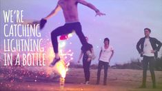 "The Summer Set - ""Lightning In A Bottle"" Lyric Video, via YouTube. I really like this song (:"