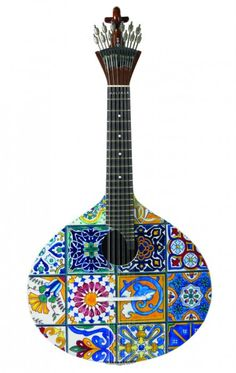 Portuguese guitar - #Fado - Malabar #Portugal #travel