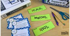 This is one of the activities from the counting atoms and elements station lab. Students will recognize that chemical formulas are used to identify substances, and that chemical formulas determine the number of atoms of each element. This complete lesson plan is ready to print and teach.