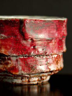 Shino Cup Rerrin ( Ceramic Stoneware Pottery ) by texasadam, via Flickr
