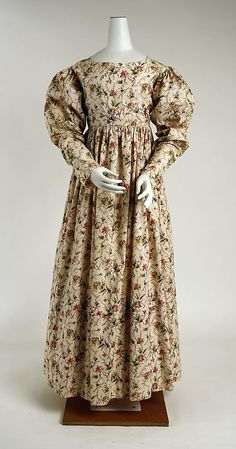 Morning dress (1820s)