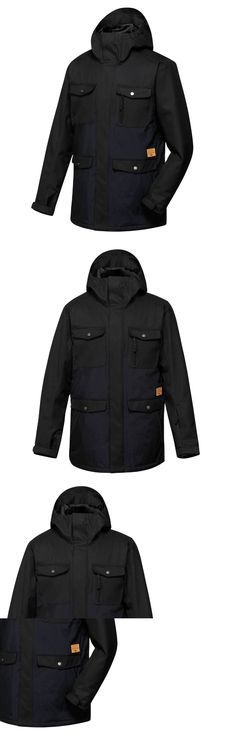 Coats and Jackets 26346: $219 New Quiksilver Men S Reply Jacket 10K Snow Ski Jacket Black Size Xl Caviar -> BUY IT NOW ONLY: $55.99 on eBay!