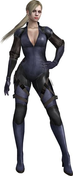 Jill Valentine - Resident Evil 5. Jill is hottest as a blonde. Oh, and to all you crack pairing fans, JILL AND RICARDO IRVING FOR LIFE!