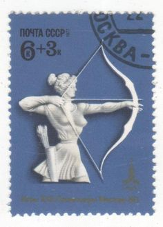 Bull's-eye! - Archery on Stamps - Stamp Community Forum