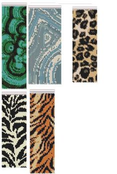 И еще несколько браслетов | biser.info - всё о бисере и бисерном творчестве