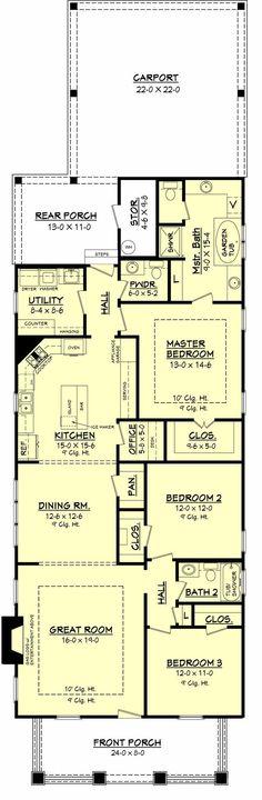 Old Decatur Craftsman House Plan