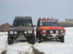 Land Rover Discovery V8 Off Road!