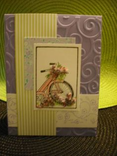 bicycle cards by Sandy Weakley - Cards and Paper Crafts at Splitcoaststampers