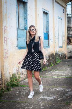 Saia com tênis | Nathália Menezes