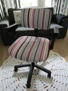 Tee-se-itse-naisen sisustusblogi: Upholstered Office Chair