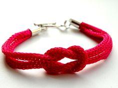 Raspberry Rope - bransoleka w Bajobongo na DaWanda.com