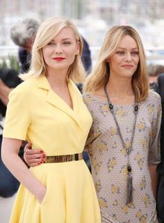 Kirsten Dunst and Vanessa Paradis attend the Jury photocall at the 69th Cannes Film Festival on May ... - Matt Baron/BEI/Shutterstock/Rex USA