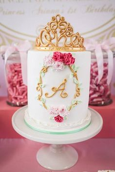 Beautiful Princess Themed 1st Birthday by Oh Feri - Party and Event Styling