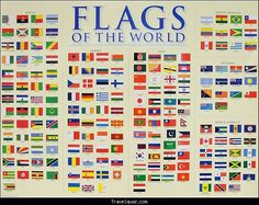 Flags of the world - http://travelquaz.com/flags-of-the-world.html
