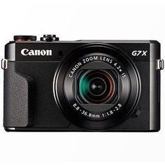 Canon PowerShot G7 X Mark II Digitalkamera mit klappbarem Display (20,1 Megapixel, 4,2-fach optischer Zoom (7,5 cm (3 Zoll) LCD-Display, Touchscreen) schwarz